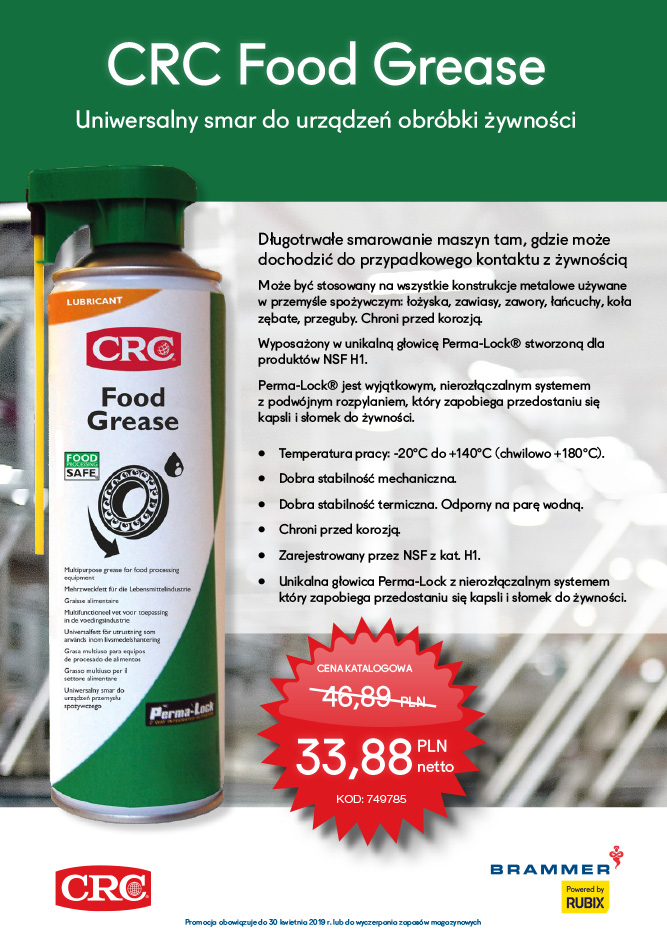 CRC Food Grease promocja